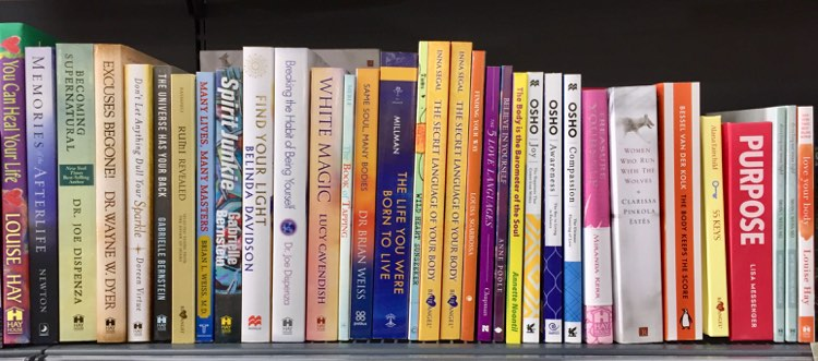 The Nurcha Retail Lifestyle store has a huge selection of books to learn about mindfulness and happiness techniques.