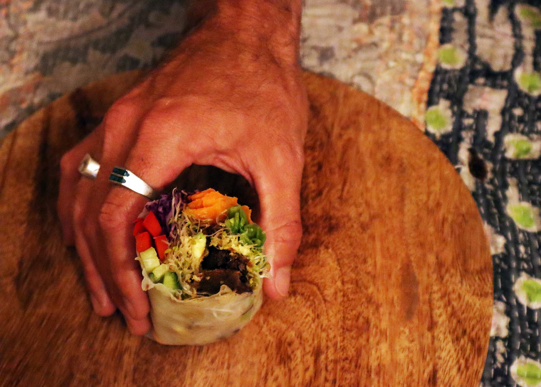 Mock meat Fable Food Co Serving